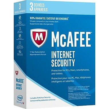 Intel Security - McAfee Internet Security 2017, 3 dispositifs