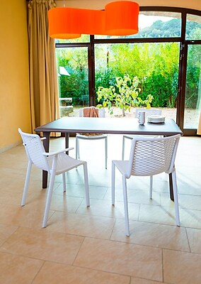 Resol-Barcelona Dd New Dessa 160 Table, White, (30769)