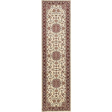 Astoria Grand Barwon Ivory/Red Area Rug; 8'9'' x 13'
