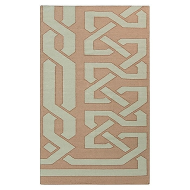 Beth Lacefield Alameda Hand woven Taupe/Light Brown Area Rug; 2' x 3'