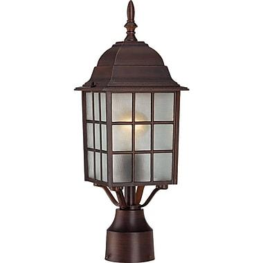 Charlton Home Sorrells Outdoor 1-Light Lantern Head; Rustic Bronze