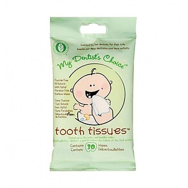 My Dentist Choice Tooth Tissues, Bamboo Dental Wipes, 30/Pack