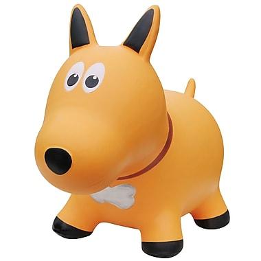 Farm Hoppers – Ballon sauteur en forme de chien, jaune