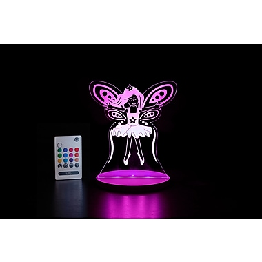 Tulio Fairy LED Nightlight Remote Control, Multicolour (TUL1003)