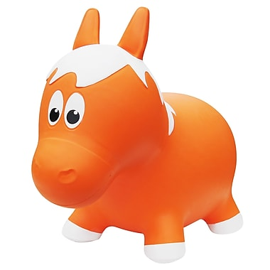 Farm Hoppers – Ballon sauteur en forme de cheval, orange