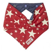 Skibz Bibs Denim Cowboy Star Bribble Bib