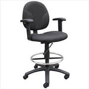 Nicer Interior Drafting Stool with Adjustable Arms (AP521)