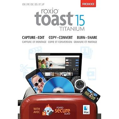 Roxio – Toast 15 Pro (Mac) [Téléchargement]