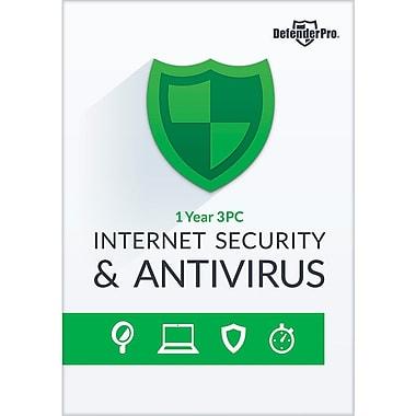 Avanquest – Logiciel Defender Pro Internet Security & Antivirus, abonnement de 1 an, pour 3 ordinateurs [Téléchargement]