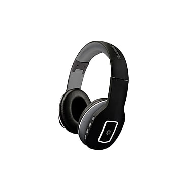 Mental Beats – Casque d'écoute sans fil Bluetooth Heat 2-en-1, noir (83523)