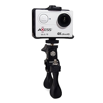 Axess® 3840 x 2160 Ultra HD Action Camera, Silver (CS3609)