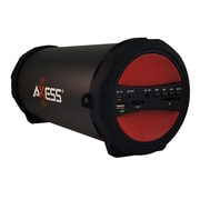 Axess® Thunder Sonic SPBT1041 10 W Indoor/Outdoor HIFI Bluetooth Speaker, Red