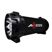 Axess® SPBT1065 30 W Bluetooth Rechargeable Speaker with LED Lights, Black