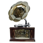 Back To The 50's 3-Speed Executive Antique Trumpet Horn Turntable/Phonograph (12129)