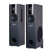 BeFree Sound BFS-T120-BNDL 70 W Bluetooth Tower Speaker with Optical Input, Black