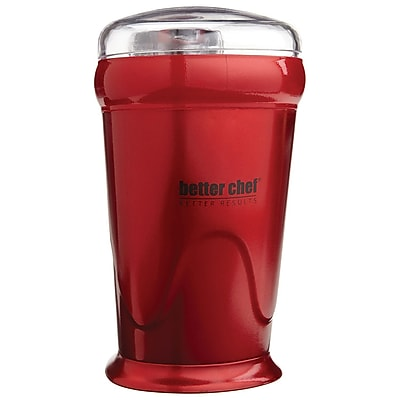 Better Chef® 150 W Coffee Grinder, Red (IM-162R)