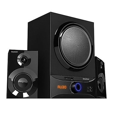 Boytone™ 60 W Bluetooth Multimedia Speaker System, Diamond Black (BT-209FB)