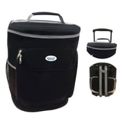 Brentwood 40-Can Wheeled Cooler Bag, Black (CB-40)