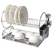 "Mega Chef 22"" Two Shelf Dish Rack (94396411M)"