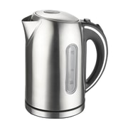 Mega Chef Stainless Steel Electric Tea Kettle,1.7 ltr, Silver (97096264M)