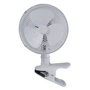 """Optimus 7"""" Personal Adjustable Table Fan, White (F-0712A)"""