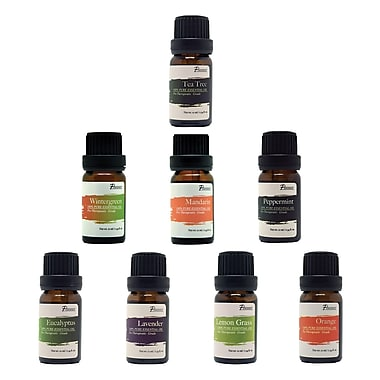 Pursonic® 8 Piece Pure Essential Aromatherapy Oils Gift Set (AO8)