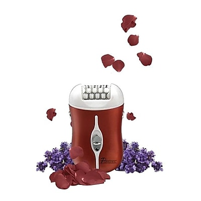Pursonic® Two Speed Rechargeable Epilator, Red (FE120R)