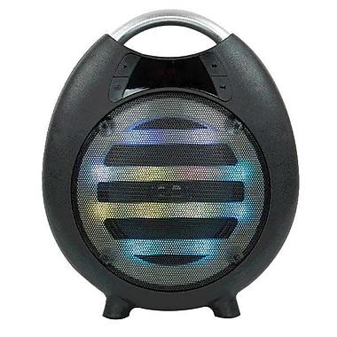 QFX® PBX-2100 6.4 W Bluetooth Rechargeable Party Speaker, Black