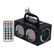 Sykik™ SP2012BT 6 W Mini Bluetooth Boombox with Dancing Light Show, Black