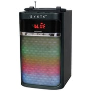 Sykik™ 6 W Portable Bluetooth Speaker with Color Changing Light Show, Black (SP5209BT)