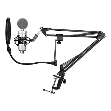 Technical Pro 92592736M Professional USB Condenser Microphone Starter Package