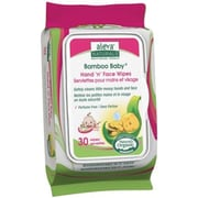 Aleva® Naturals Bamboo Baby Hand & Face Wipes, 30/Pack (37961)