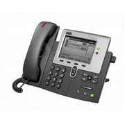 Cisco™ CP-7941G-RF 2 x Total Line Refurbished Unified IP Phone, Dark Gray/Silver