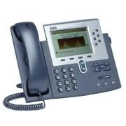Cisco™ CP-7960G-RF 6 x Total Line Refurbished Unified IP Phone, Dark Gray/Silver