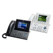 Cisco™ 8961 5 x Total Line Unified Refurbished IP Phone, Charcoal