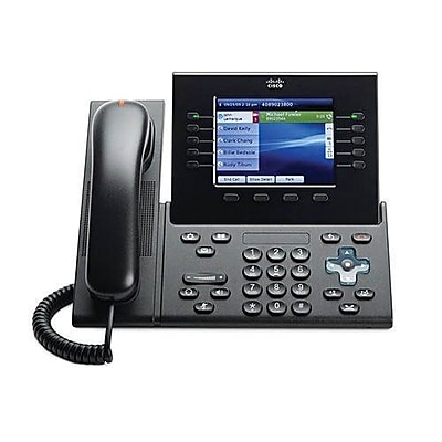 Cisco CP-8961-CL-K9= Spare Slimline Handset for Unified