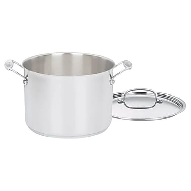 Cuisinart® French Classic 8 qt Stockpot with Cover, Silver (FCT66-24)