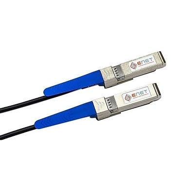eNet SFC2-DLNA-3M-ENC 3 m Black 10GBase-CU SFP+ to SFP+ Passive Direct Attach Cable