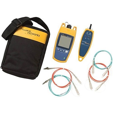 Fluke Networks™ Fiber QuickMap™ Distance and Fault Locator, Yellow/Black (FQM-100-M-VFL)