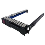 HP® Small Form Factor Hard Drive Tray for ProLiant DL380p/DL388/DL360p Gen8 Servers, Black (651699-001-KIT)