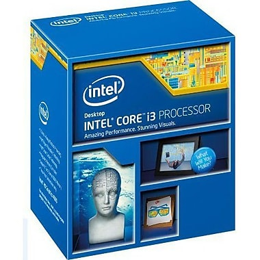 Intel® Core™ i3-4150 Desktop Processor, 3.5 GHz, Dual-Core, 3MB (BX80646I34150)