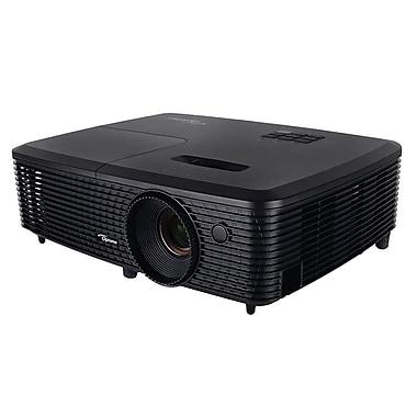 Optoma Full HD 3300 Lumens 3D Ready DLP Projector, Black (EH331)