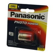 Panasonic 3 V Photo Lithium Battery, Gold (CR-2PA/1B)