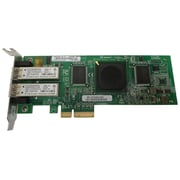 Qlogic® 2400 Series QLE2462-SUN 4 Gbps Dual Port Fiber Channel PCI Express Host Bus Adapter for StorEdge Workstation