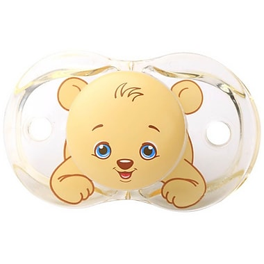 RaZbaby® Keep-It-Kleen Pacifier, Bobby Bear (007-BB)