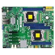 Supermicro® 512GB DDR4 Extended ATX Motherboard, Socket 2xLGA2011-3 (MBD-X10DRD-I-O)