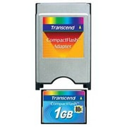 Transcend® TS1GFLATA 1GB PC Type II Flash Memory Card