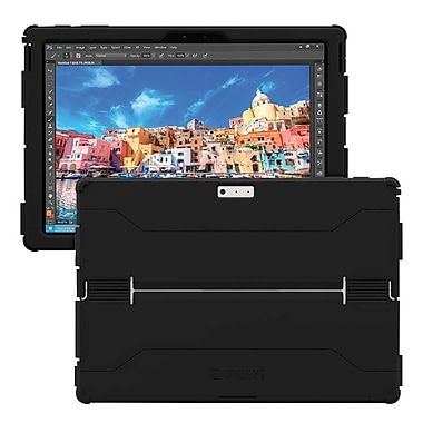 Trident™ CYCLOPS Black TPE/Polycarbonate Case for Surface Pro 4 Tablet (CY-MSCARP-BKBLK)