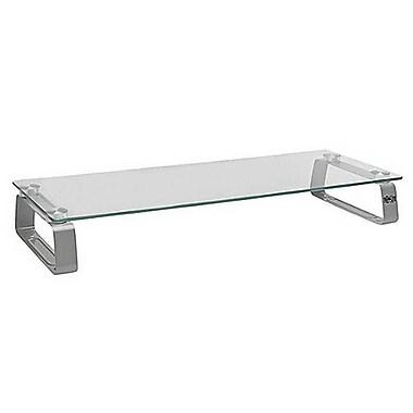 Tripp Lite Universal Glass-Top Monitor Riser, Silver/Transparent (MR2208G)