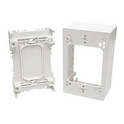 Tripp Lite ABS Thermoplastic Single-Gang Junction Box, White (N080-SMB1-WH) (12212429)